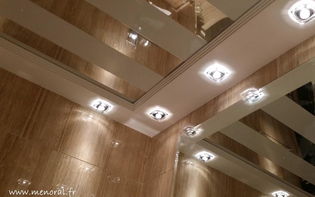 Plafond original en aluminium…